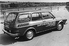Mobiler Service in den 70er - Altes Autglas Reifenberger Außendienstfahrzeug