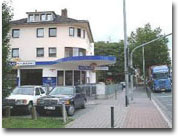 Autoglas Reifenberger Mainz Ansicht von IBIS Hotel